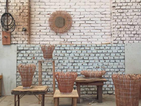 vasos imigrante em vime designer nicole tomazi