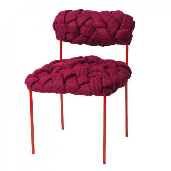 cadeiras design- cadeira cloud vinho