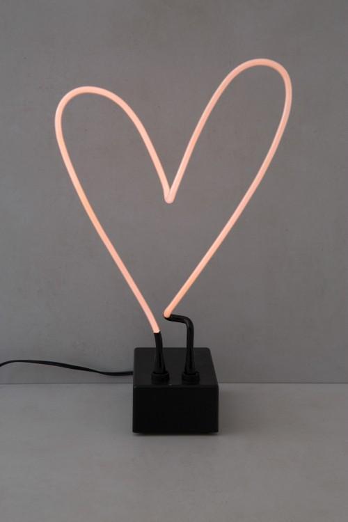 Abajur Neon Coração