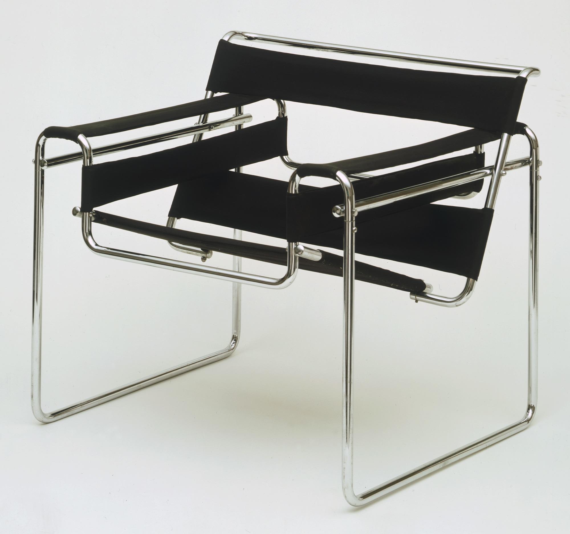 Cadeira Wassily preta