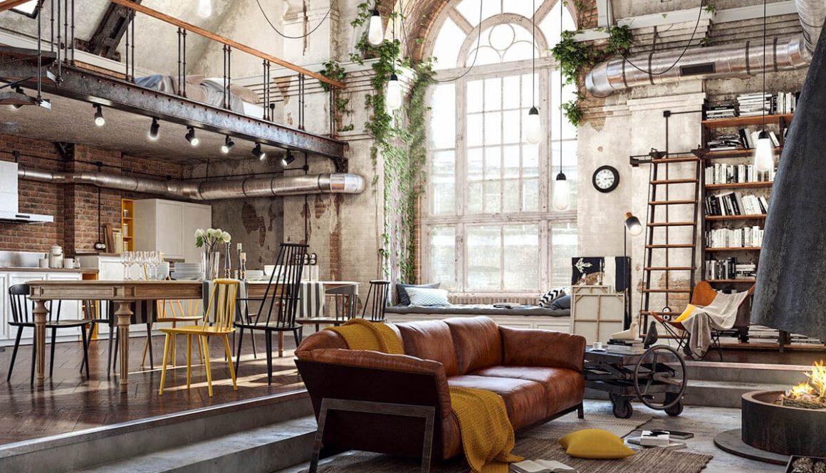 estilo industrial mais dramatico vintage living