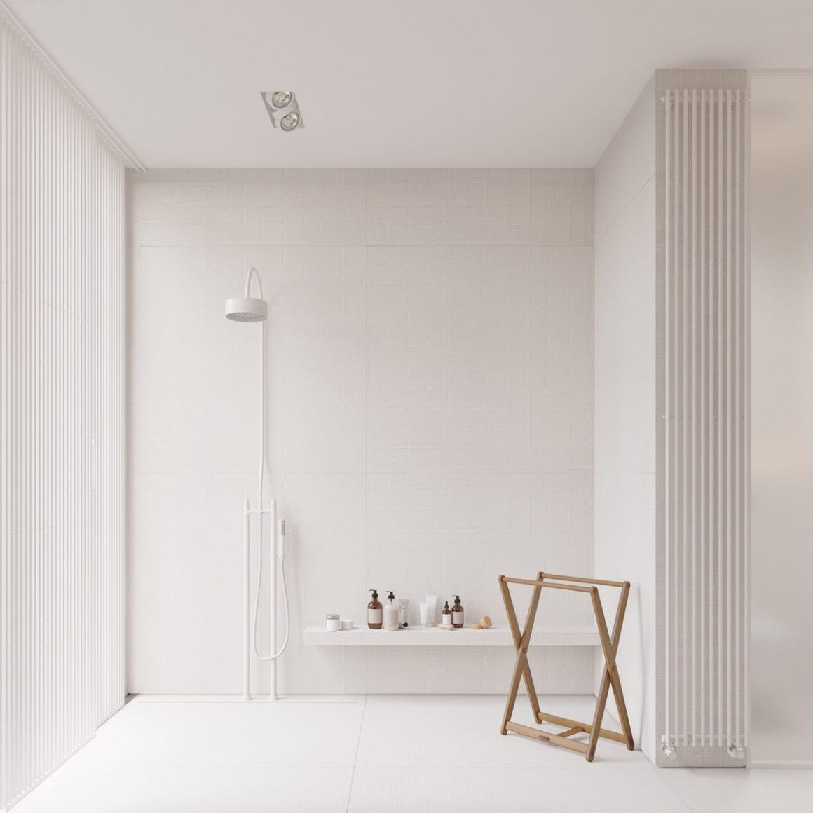 Banheiro super minimalista