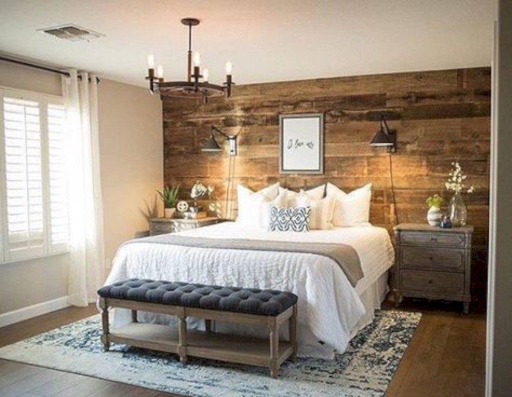 Cozy Rustic Master Bedroom Decoration Ideas (44) - Trendecor.co inside Rustic Bedroom Decor
