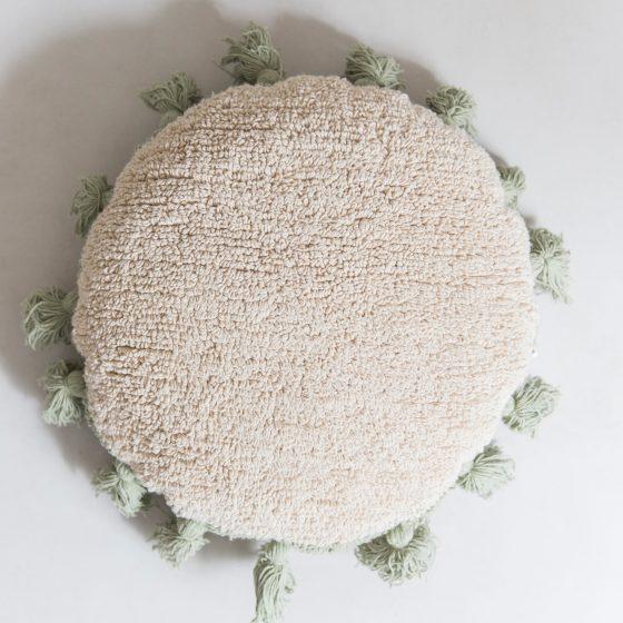 almofada redonda lorena