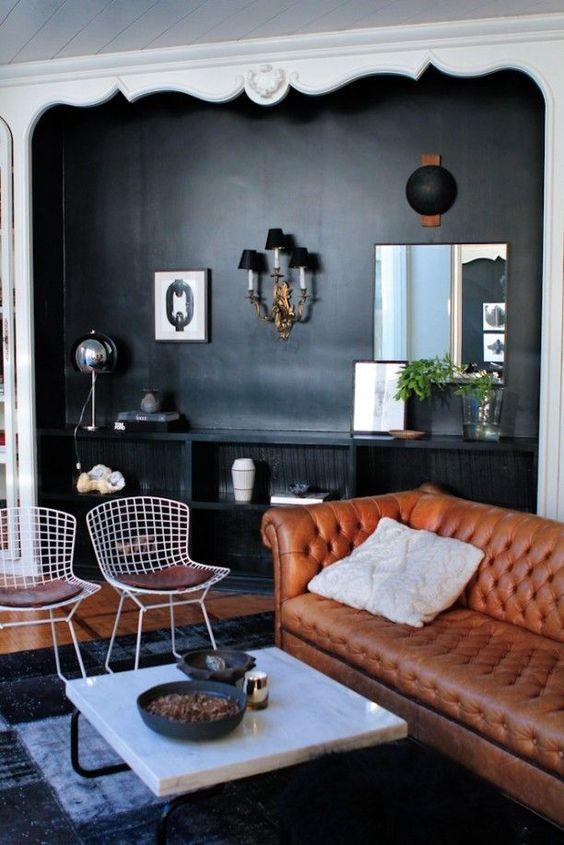 Couro – O mais versátil da decoração.