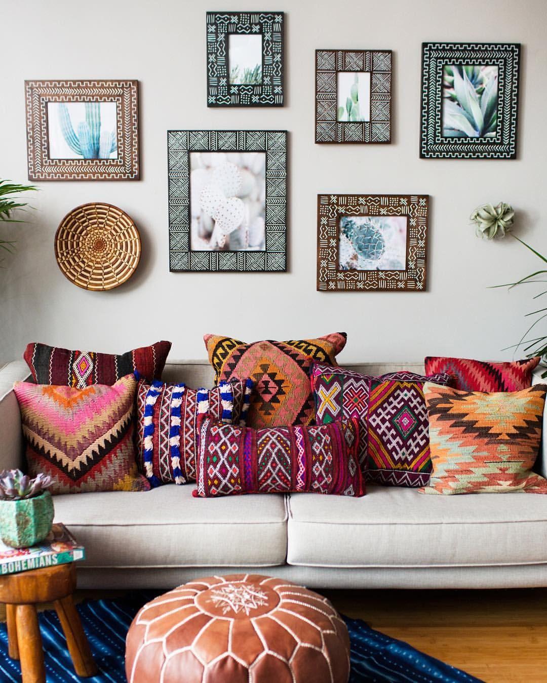 Leve um pouco do estilo étnico para a sua casa
