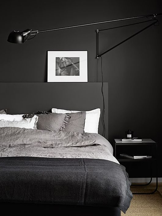 dormitório totalmente preto