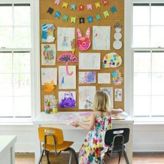 Formas Divertidas De Mostrar A Arte Dos Seus Filhos