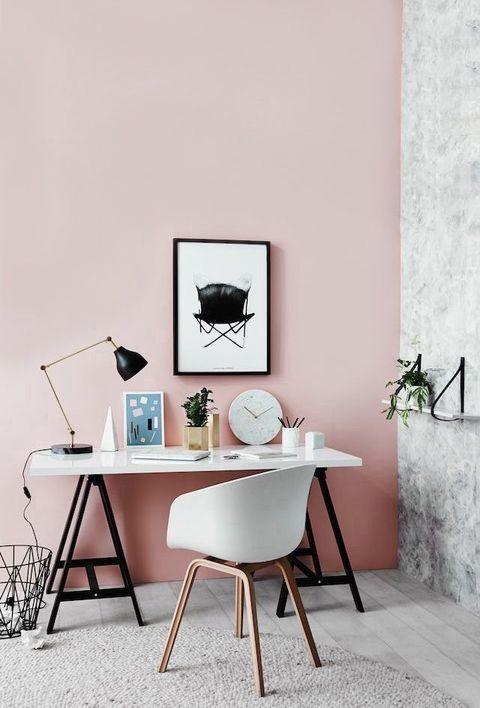 rosé quartz pintura