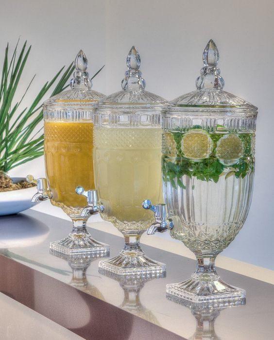 suqueira clássica em cristal
