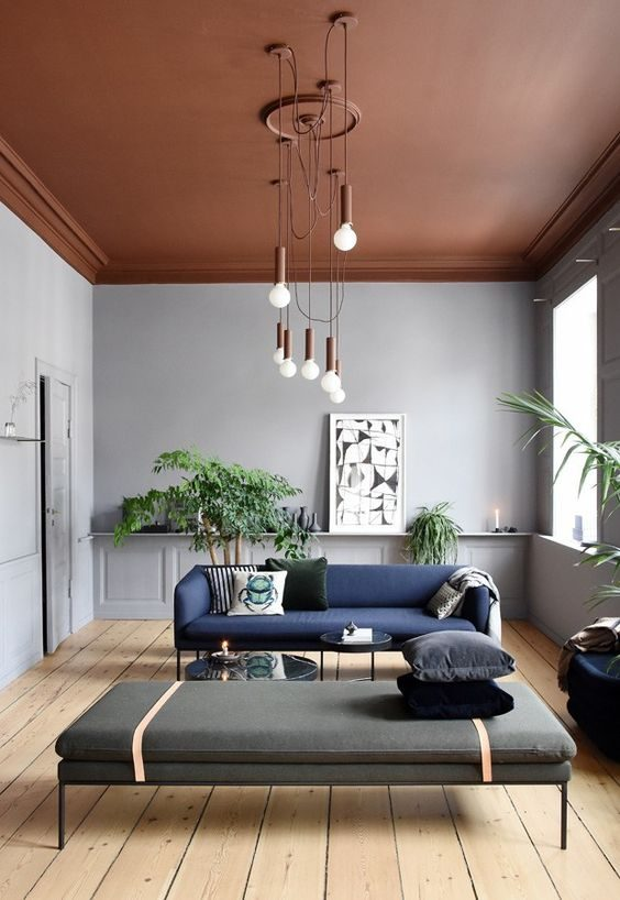teto pintado de terracota