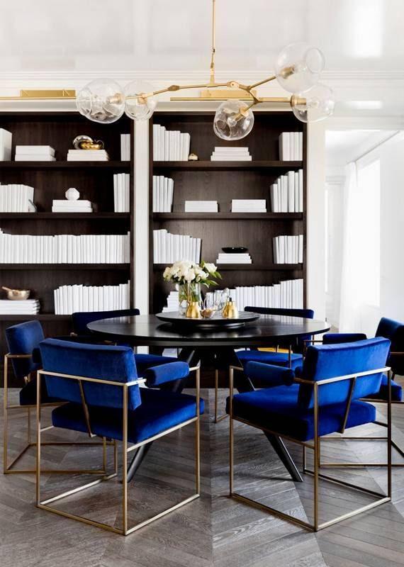 5 maneiras de usar veludo na decoração