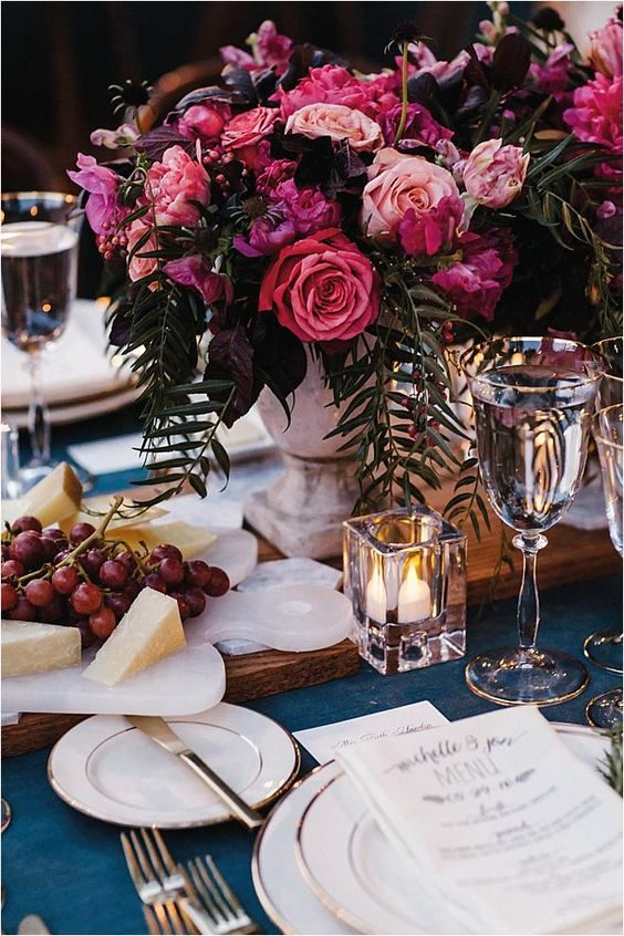 decoração de casamento rosé