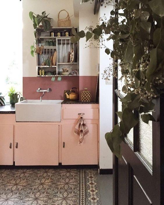 Ideias Para Você Ter Uma Cozinha Rosa Millennial Cheia De Personalidade