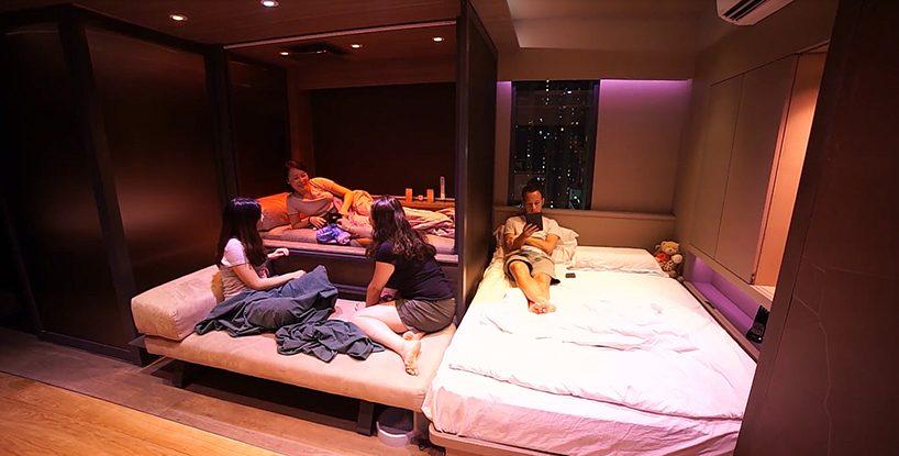 apartamento estilo millennial em hong kong
