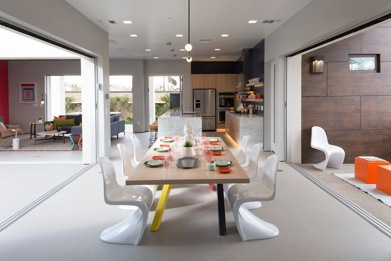 sala de jantar estilo millennial