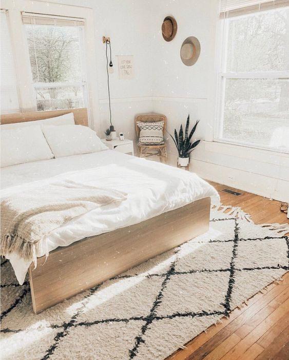 quarto com decoração handmade