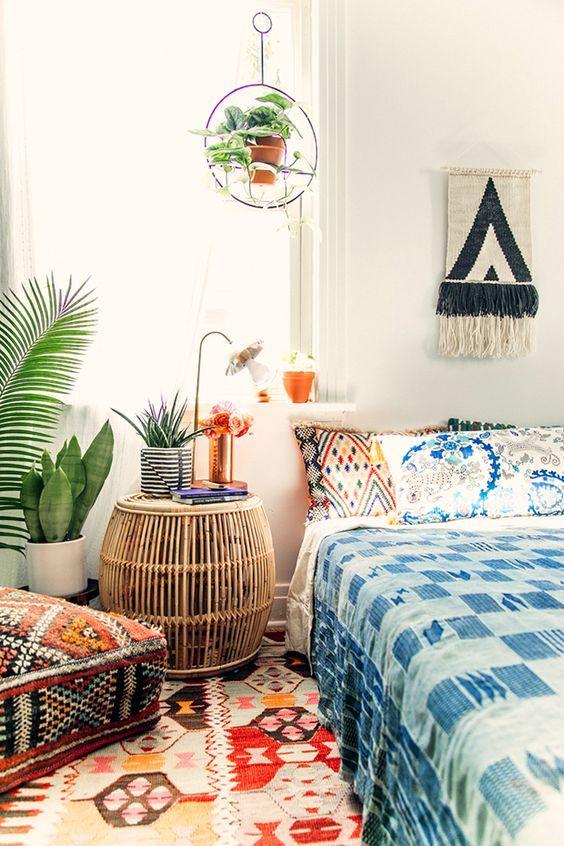 dormitório em jungalow style