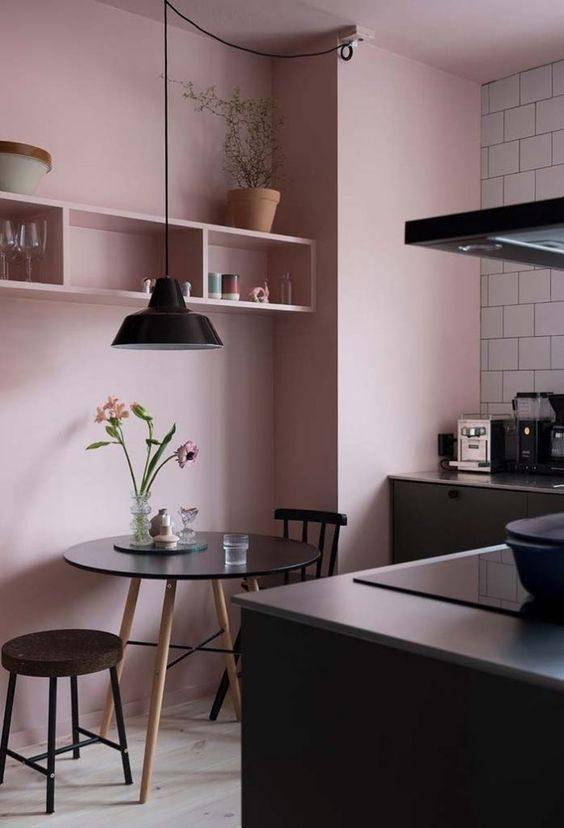 cozinha-com-paredes-rose-quartz