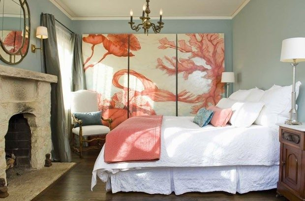 living coral na decoração