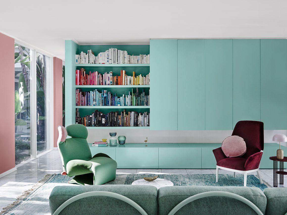 minimalismo com cores