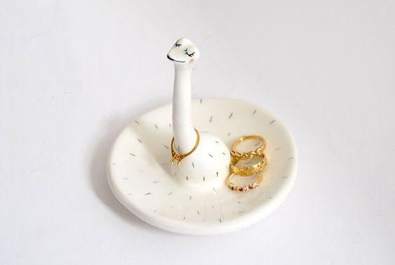 pratinho de anel em formato de animal