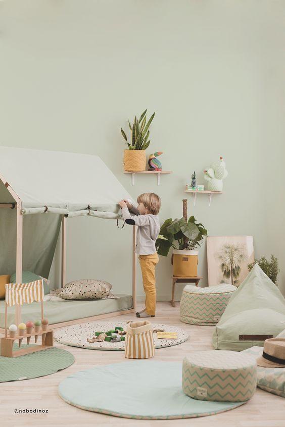 quarto infantil neo-mint