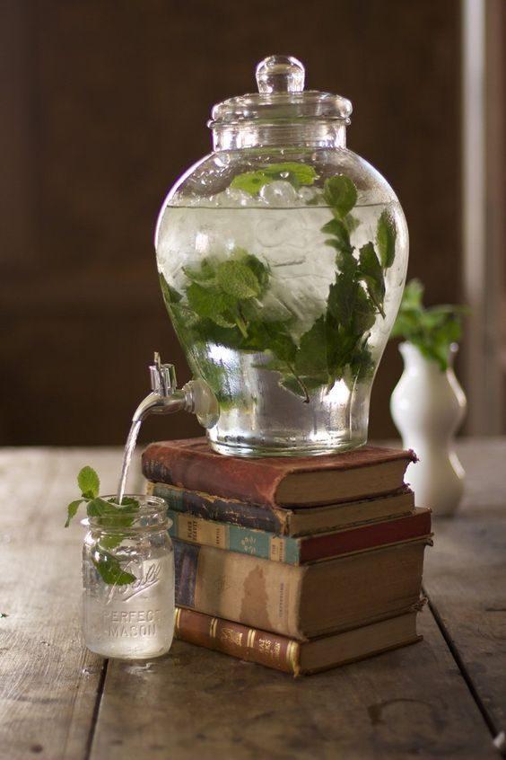 suqueira clássica em vidro