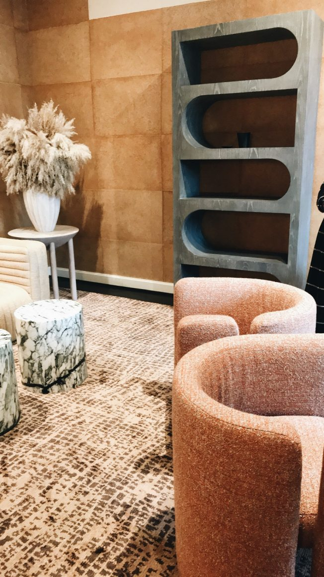 A tendência do mobiliário com linhas curvas