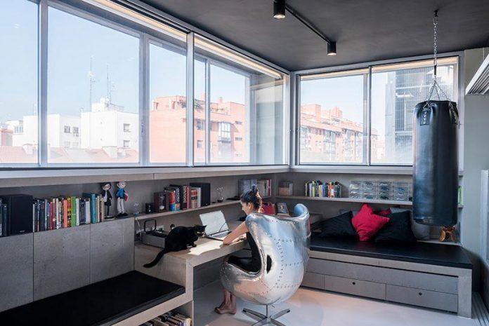 espaço industrial que foi transformado em moradia