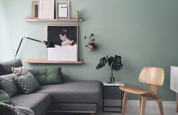 verde sage na decoração