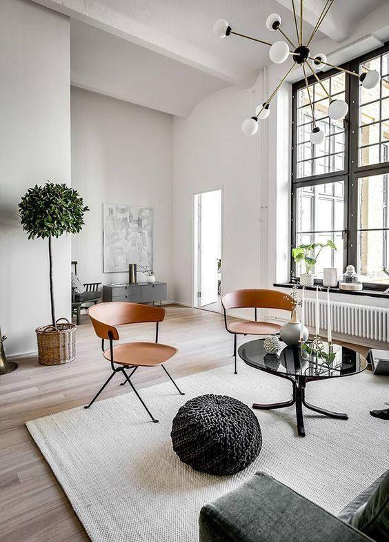 salas de estar no instagram