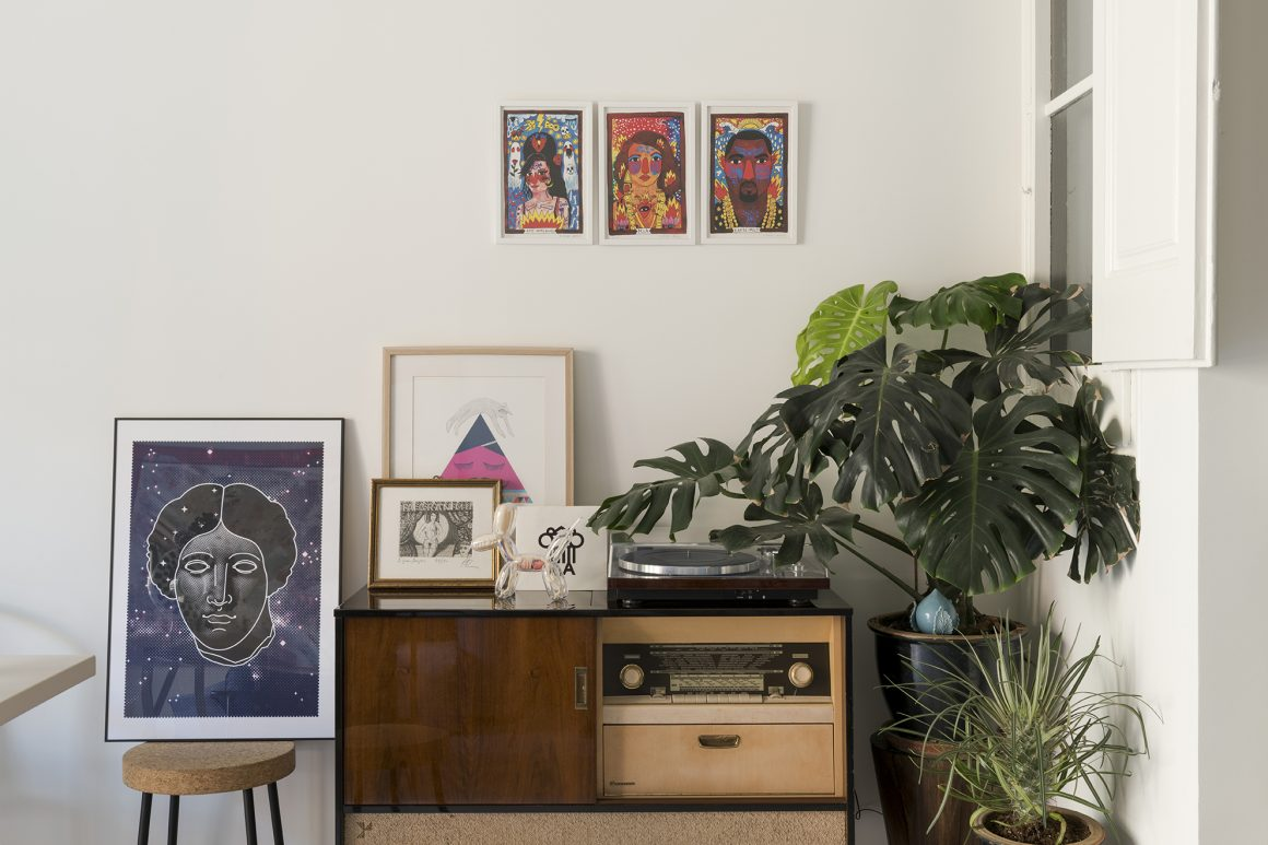 apartamento gabinete de curiosidades