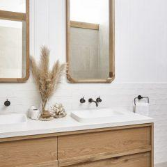 A Paleta De Cores Mais Classica Para O Seu Banheiro