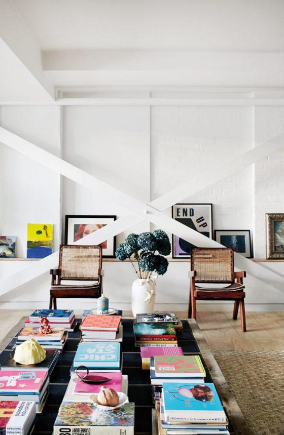 formas criativas de armazenar livros