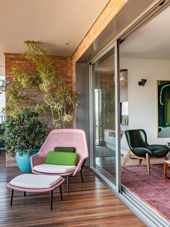 apartamento integrado casa100
