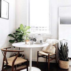 9 Pequenas (Mas Poderosas) Mesas De Jantar Perfeitas Para Espaços Pequenos