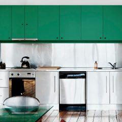 As Cores De Tinta Das Nossas 8 cozinhas Verdes Preferidas