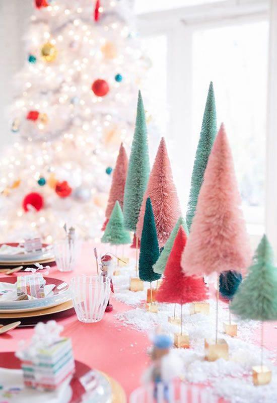 As Melhores Idéias Para Mesa Posta De Natal