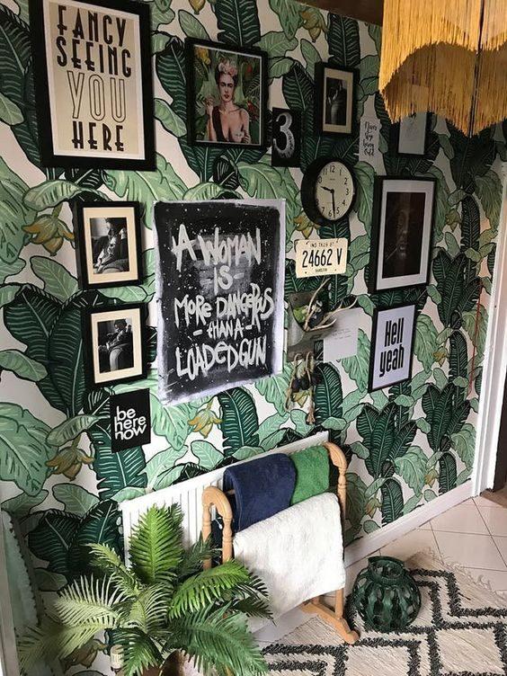 Todas as formas de montar sua gallery wall