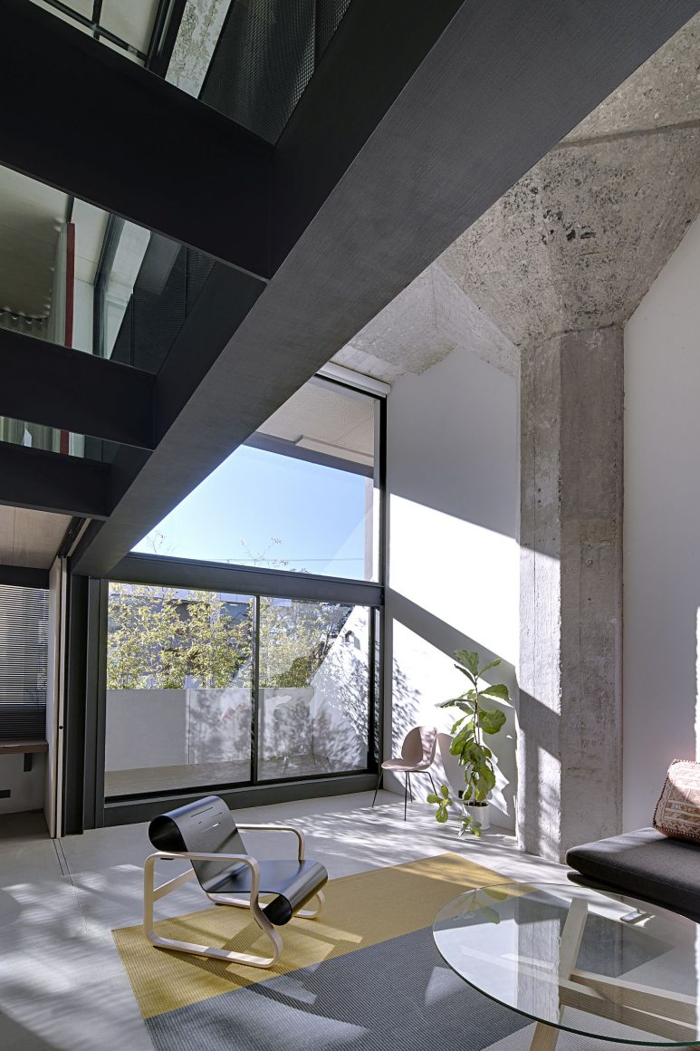 casa concreto aparente