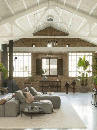 loft industrial moderno