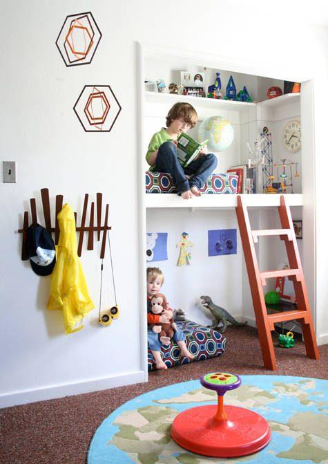 quartos para as crianças dividirem