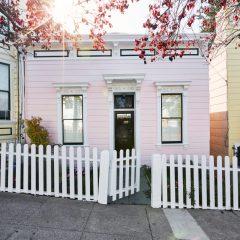 Esta É A Casa Victoriana Mais Fofa De São Francisco, CA.