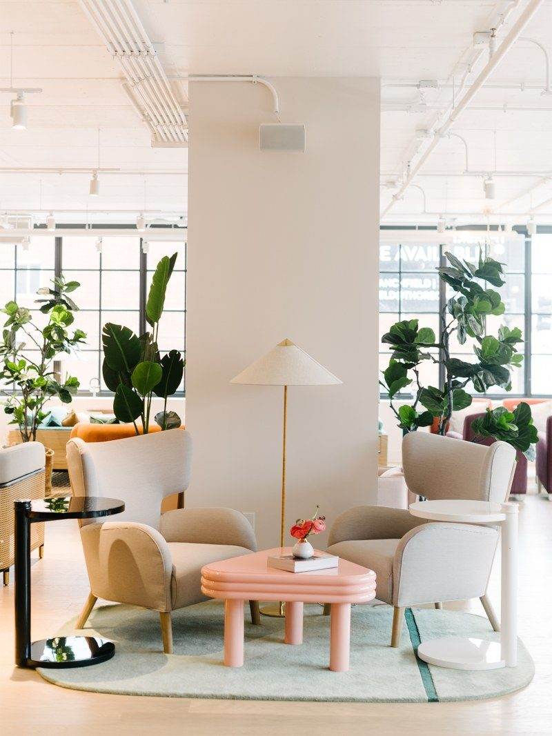 Design espaço de trabalho