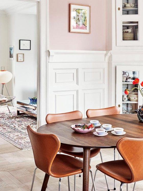 Estilo Eclético Colorido Renovam Apartamento Antigo