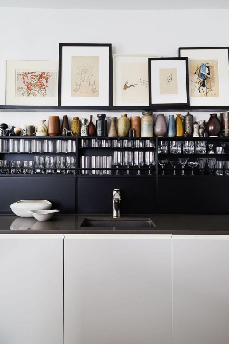 As Cozinhas Pretas São As Novas Cozinhas Brancas