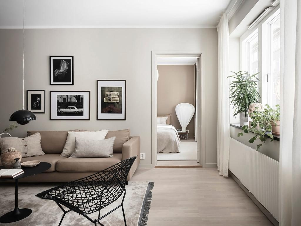 Studio Sueco Com Uma Paleta De Cores Inesperada
