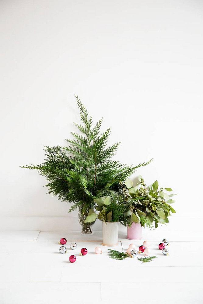 Árvores de Natal para Pequenos Espaços