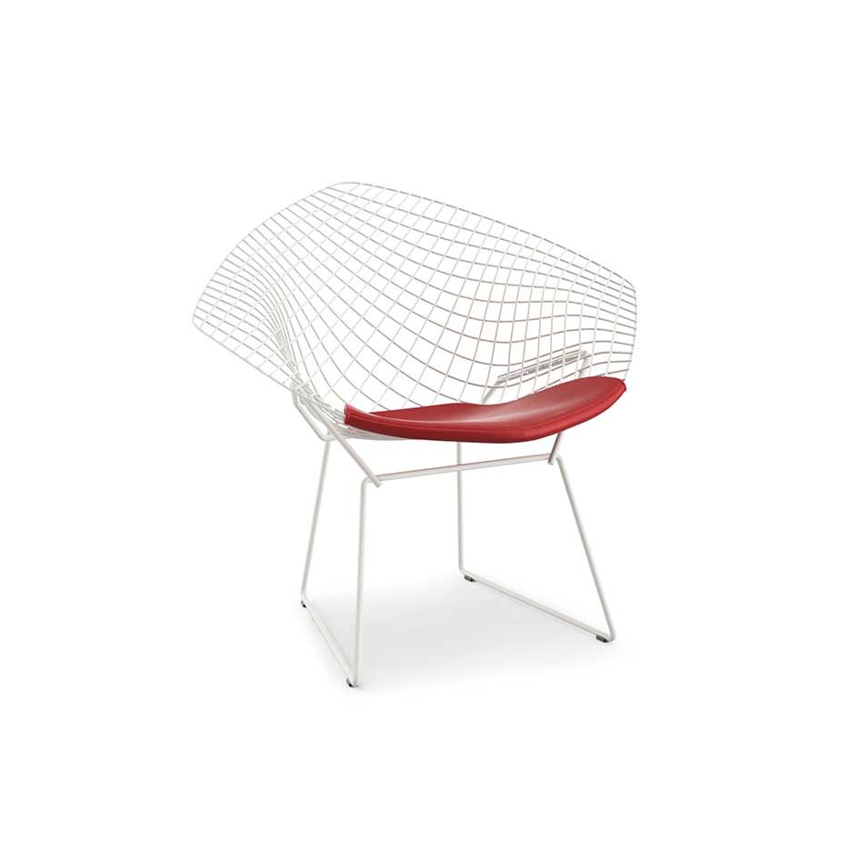 Cadeira Diamante Vermelha